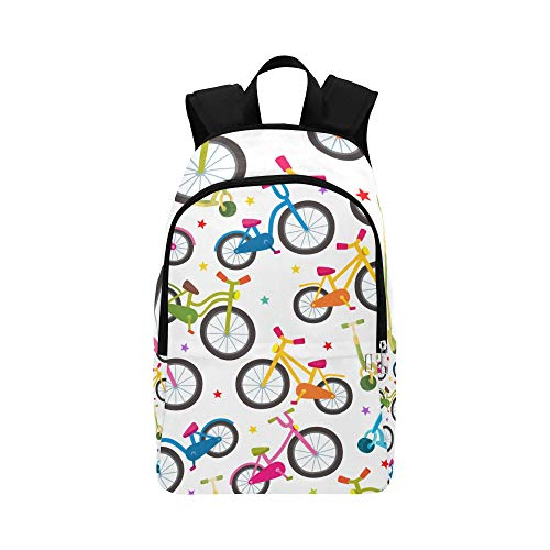 WSNWCY X Bookbag Bicycle Wheel Cycling Game Sport Durable Water Resistant Classic Box Backpack Kid Daypack Best Backpack Daypack Hiking