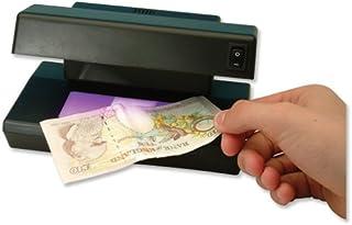 2 x Llavero de luz UV Forjado Billete de Banco Detector de Dinero Falso Polymer ID Checker GK