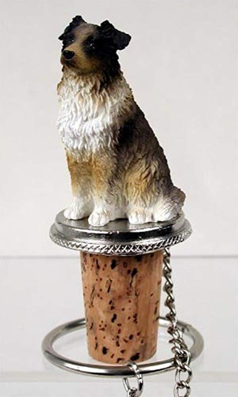 Australian Shepherd Brown Dog Wine Bottle Stopper DTB99A