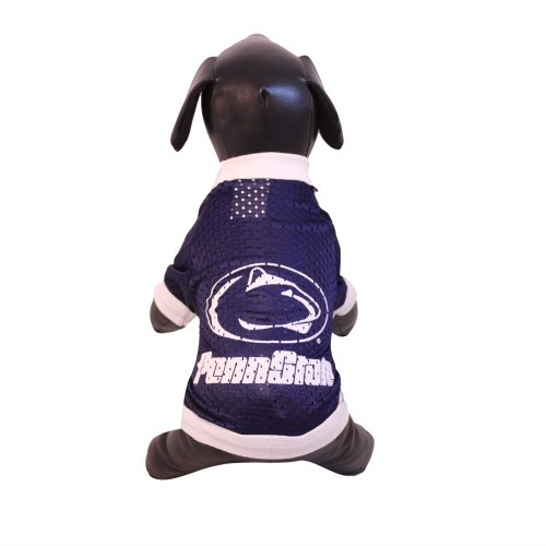 NCAA Penn State Nittany Lions Athletic Mesh Dog Jersey (Team Color, X-Small)