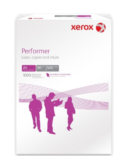 Xerox A4High Performer 80g Papier weiß Inkjet Laser Drucker und Kopierer 1 Ream (500 Sheets)