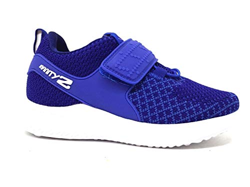 Primigi 5459433 - Zapatillas deportivas infantiles de malla, color azul marino y Royal Luci Infinity Lights