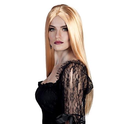 Boland- Parrucca Lunga Strega Bewitched per Adulti, Biondo, Taglia Unica, 86086