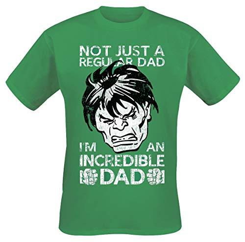 The Avengers Hulk Not Regular Dad T-shirt groen