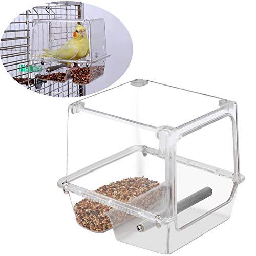 TTaceb Comederos Hamster Comedero Jaula Pajaros Colgante comederos de Aves Pájaro Tuerca de alimentación Semillas de pájaro alimentador Mealworm alimentador