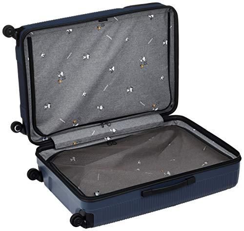 [プロテカ]スーツケース日本製ポケットライナーピーナッツエディション保証付88L70cm5kgコズミックネイビー