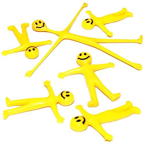 Confezione da 40 x omini sorridenti elastici