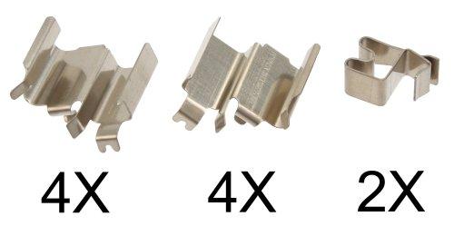 ABS 1244Q Kit de Accesorios, Pastillas de Frenos