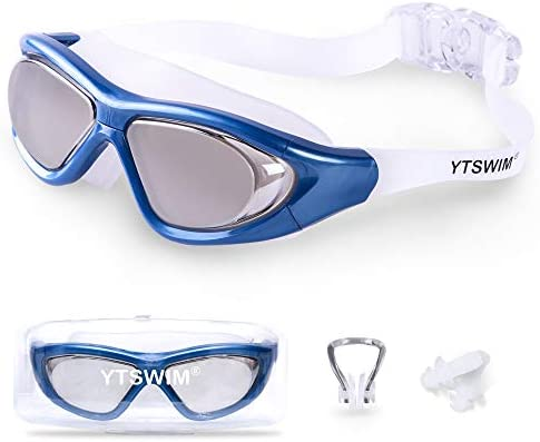 YTSWIM Anti Fog Swimming Goggles No Leaking UV Protection Triathlon Swim Goggles with Waterproof product image