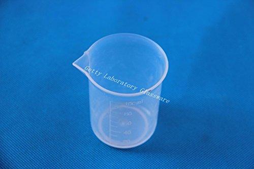 100ml Vaso Graduado de plástico transparente de medición de PVC de plástico...