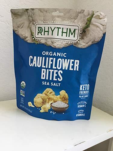 Rhythm Organic Cauliflower Bites - Sea Salt 5.75 oz.