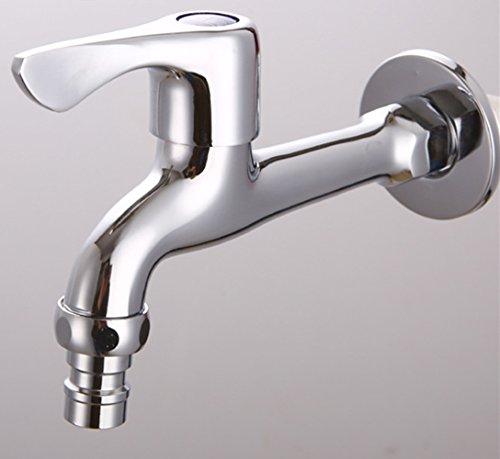 para montar en la pared cromado para agua fr/ía Grifo monomando para lavabo de cocina de Crosswise