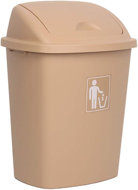 LYXPUZI Mülleimer zu Hause Wohnzimmer Schlafzimmer Badezimmer groß bedeckt kreativ süß mit Cover Büro Flip Müllkonzentrationsstation (Farbe   Rice Gelb) B07Q792QRN | Zu einem niedrigeren Preis