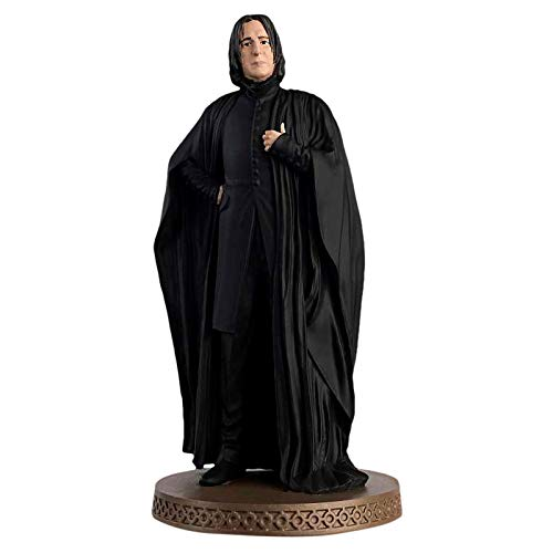 Eaglemoss Harry Potter Figur Professor Severus Snape Wizarding World Figurine Collection mit Magazin 12cm Resin