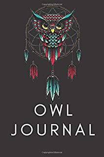 Owl Journal / Charming journal/ Diary offers plenty of space for your personal reflections/ Owl Forest Journal / Journal f...