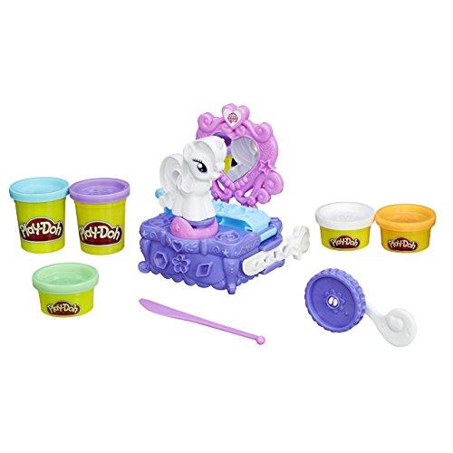 Play-Doh Hasbro B3400EU4 - My Little Pony Raritys Salon, Knete
