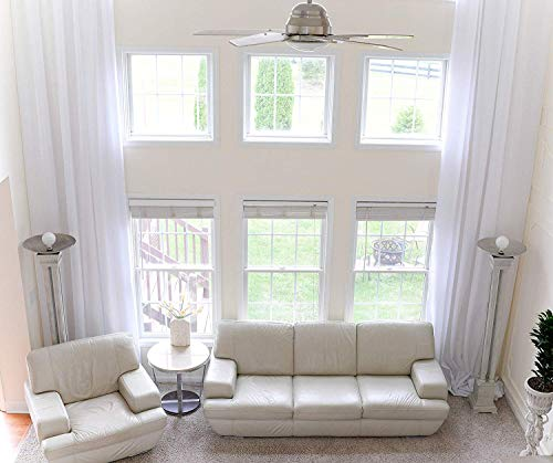 Extra Long Pure White, Wine and Gray Drape Custom Made 50 and 100'...