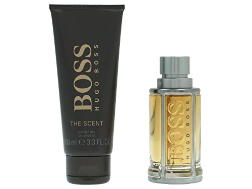 Hugo Boss The Scent Geschenkset Eau de Toilette 50ml, Shower gel 100ml
