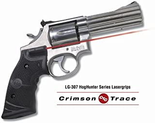 Crimson Trace LG-307 Lasergrips Red Laser Sight Grips for Smith & Wesson K/L Frame (Square Butt) Revolvers