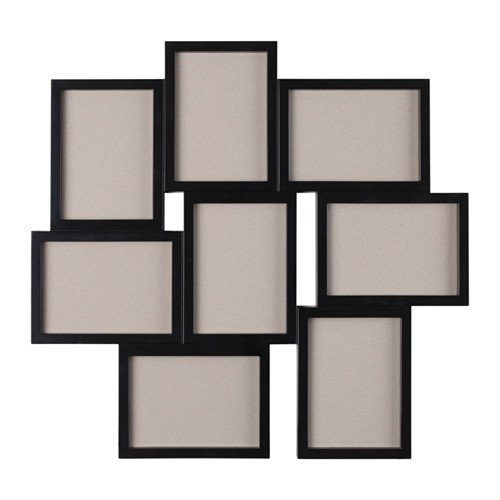 "IKEA Collage marco para 8fotos, color negro 5X 7"""