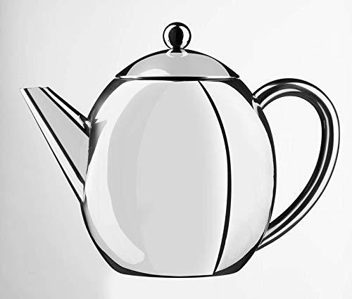 Thermo-Kanne 1,2 Liter Edelstahl Teekanne