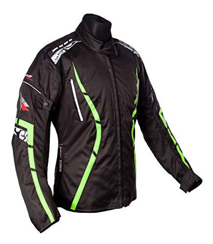 Roleff Racewear Motorradjacke Zelina, Neon Gelb, Größe XXL