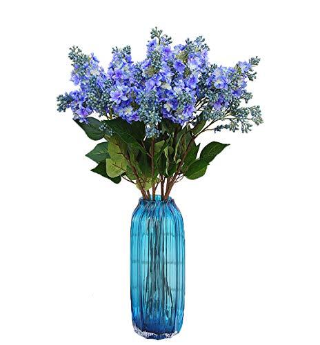 Calcifer Lot de 10 tiges (3 Branches/Tige) 69,9 cm Lilas/Seringue vulgaris L. Bouquet de Fleurs artificielles pour Mariage, fête, Maison, Jardin, Bureau, Boutique