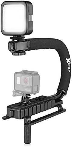 Opteka X Grip VLH MOD Professional Stabilizing Handle for GoPro Action Cameras Black product image