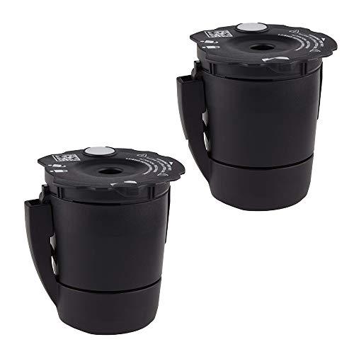 joystar Replacement Universal Reusable Ground Coffee Filter for Keurig My K-Cup,Universal Reusable Ground Coffee Filter, Compatible with Keurig 2.0 K200, K250, K300, K350, K400etc. Brewers.