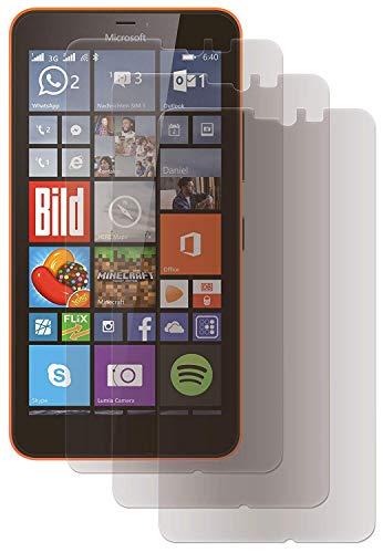 ENERGMiX Folien (3 Stück) Matt Displayfolie kompatibel mit Microsoft Lumia 640XL Schutzfolie Folie Anti-Glare