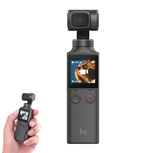 FIMI Palm Gimbal Camera Handheld Gimbal 3-Axis 4K HD Camera WiFi Bluetooth 128°Wide Angle Smart Track Built The Best Gimbal Camera for Vlog Shooting