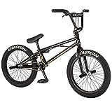 Eastern Bikes Orbit Bicicleta BMX de 20 pulgadas, negro, Chromoly Down & Steerer Tube