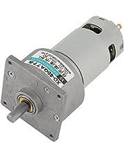 DC12 V/24 V 35 W mini-DC-transmissiemotor metaal snelheid instelbaar groot koppel motor CW/CCW (12 V 50 omw/min)