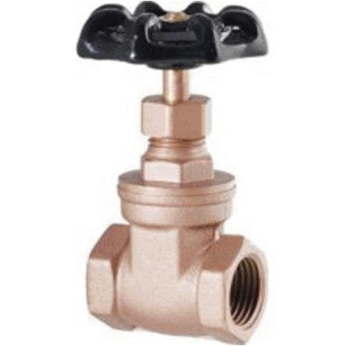 LDR 022 1113 Heavy Duty Gate Valve, 1/2-Inch IPS, Lead Free Brass by LDR Industries