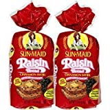 Sun Maid Raisin Bread Cinnamon Swirl [2 Loaves]
