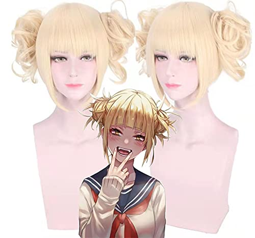 Ltyxyuan The Best for Anime Fans My Hero Academia Crossing My Quilt Split Type Tiger Mouth Clip Cosplay Anime Wig Simulation Easy to Clean
