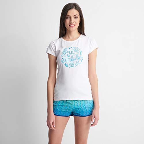 Hi-Tec Lady Anemone T-Shirt Femme, White, L