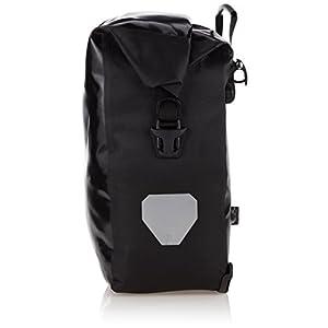 Ortlieb Back-Roller City - Juego de bolsas para parte trasera de bicicleta, color negro (2 unidades x 20 L)
