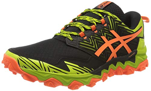 Asics Gel-Fujitrabuco 8, Running Shoe Mens, Neon Lime/Black, 44.5 EU