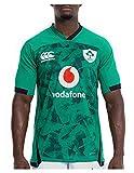 Jersey de Rugby de la Coupe du Monde Irlandaise, 2021 Green Ireland Accueil Jersey, Formation à séchage Rapide pour Hommes T-Shirt à Manches Courtes Sport Casual pour Un ami (Color : A, Size : XL)
