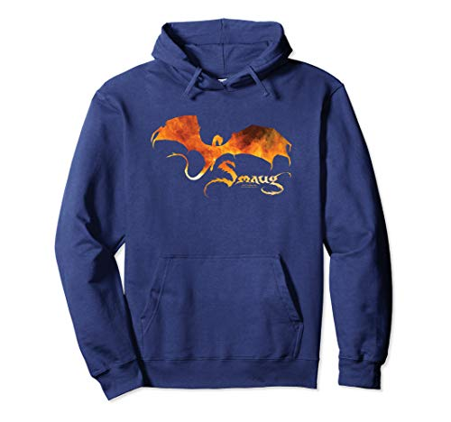 The Hobbit Smaug on Fire Pullover Hoodie