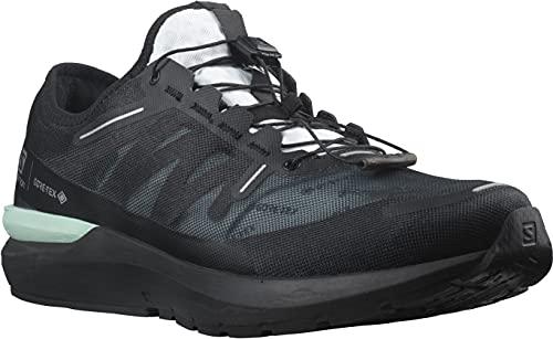 SALOMON Shoes Sonic 4 GTX, Zapatillas de Trail Running Unisex Adulto, Black/White/Black, 38 2/3 EU