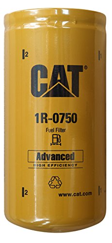 Caterpillar 1R-0750 Advanced High Efficiency Fuel Filter Multipack (Pack of 2)