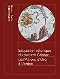 Esquisse historique du palazzo Grimani dall'Albero d'Oro à Venise. Des Vendramin aux Marcello 1449-1969