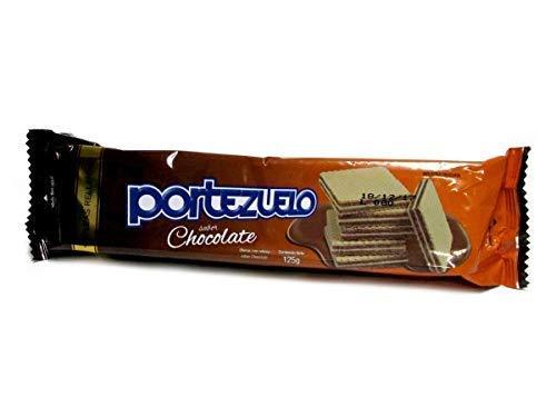 Portezuelo - Wafer ripieni- Biscotti con ripieno al gusto di cioccolato- Il prodotto uruguaiano di eccellenza-Confezione da 3 unità da 125 grammi