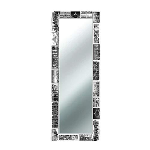 Lupia Specchio da Parete Voyager 47x132 cm Voyager Black