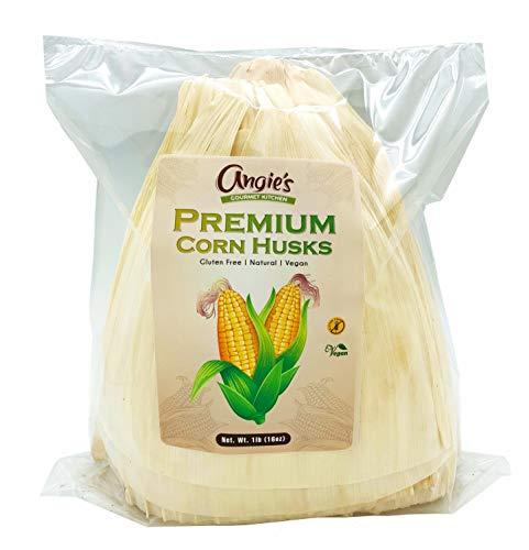 Angie's Gourmet Kitchen Premium Corn Husks 1lb (16oz)