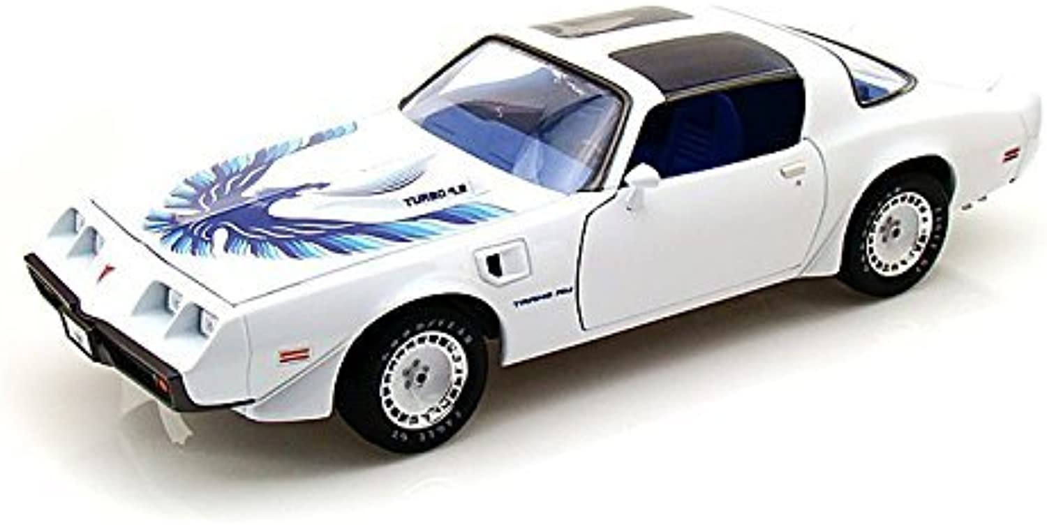 1980 Pontiac Firebird T A Triple 9 Collection 1 of 999 1 18 Weiß by Collectable Diecast