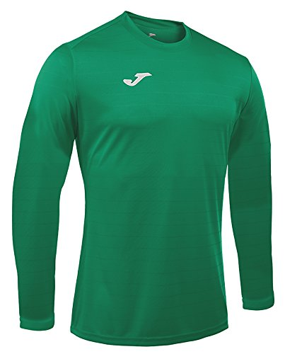 Joma Campus II Camiseta de Juego Manga Larga, Hombre, Verde, L