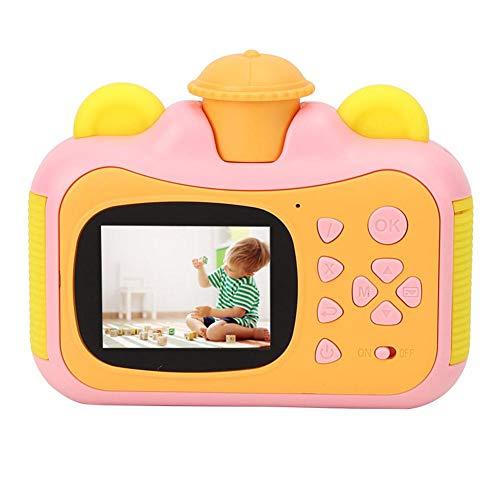 Appareil photo pour enfants, jouet d'appareil photo, filles de Noël portables pour l'anniversaire de garçons(Pink)